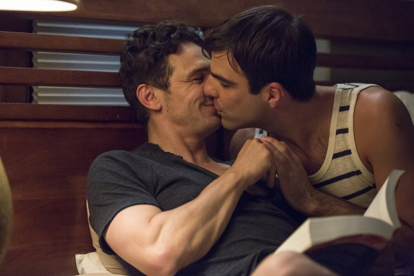 James Franco, Zachary Quinto and One of Those 'Desperate Housewives' Twins Have a Threesome