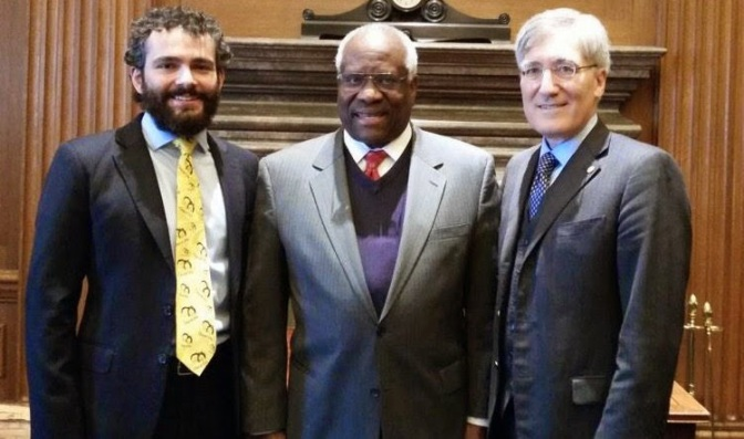 SCOTUS Justice Clarence Thomas Hobnobs With Anti-Gay Activists