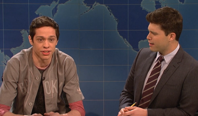 Watch: SNL's Pete Davidson On Why Watching Online Gay Porn Requires A Good Password