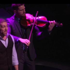 Watch: Hunky String Quartet Well Strung Performs 'Frozen'