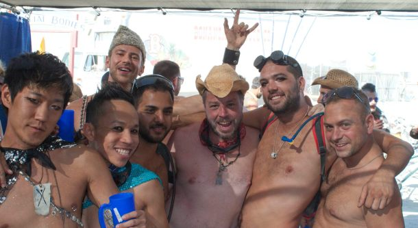 Me and the Mudskippers, Burning Man 2011