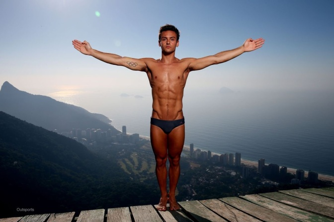 Today's Gratuitous Pics: Tom Daley in Rio