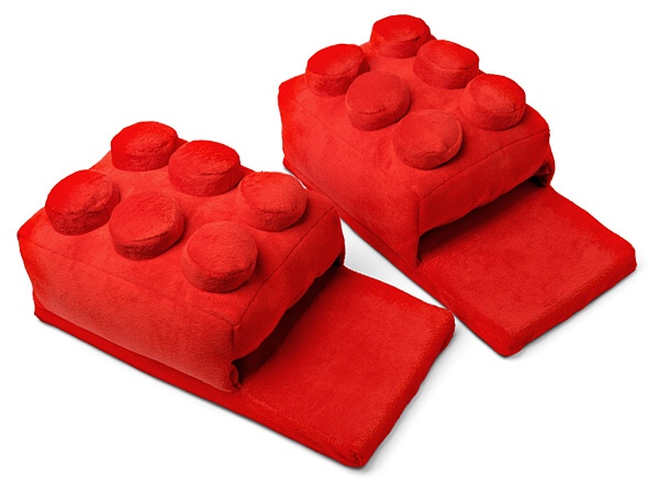 I Want These Lego Slippers