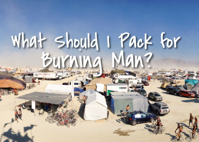 What Should I Pack for Burning Man?