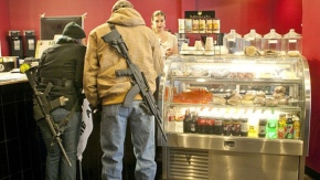 How To Tell Difference Between Open Carry Patriots and DerangedKillers