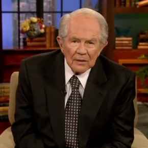 Crazy and Evil Pat Robertson: Treat Gay Son Like A DrugAddict