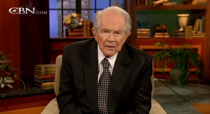 Crazy and Evil Pat Robertson: Treat Gay Son Like A Drug Addict