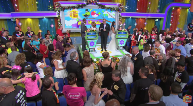 Watch: Drew Carey Officiates Massive Audience Wedding on 'The Price Is Right'