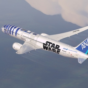 For 'Star War' Fanatics: This 787 Is Painted LikeR2D2