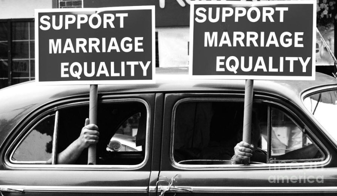 Today's Chicken Soup Digest: The Right Is FREAKING OUT About Marriage Equality