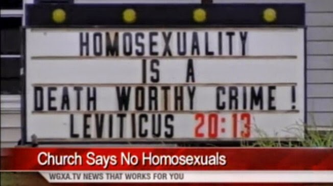 "Georgia Pastor: ""Homosexuality is a death worthy crime"""