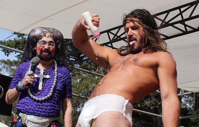 San Francisco: 'Baby Jesus' Is Victor in Yesterday's Hunky Jesus