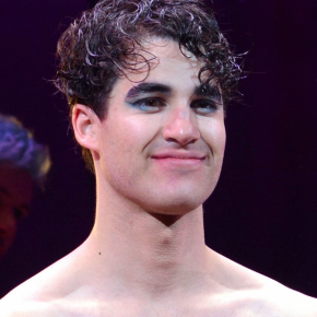Here's Shirtless Darren Criss In Itty Bitty Shorts As 'Hedwig'