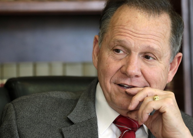 Roy Moore: Impeach Ruth Bader Ginsburg Over Gay Marriage Case