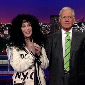 Watch: Cher Calls David Letterman and Asshole One More Time