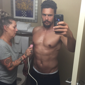 Shirtless Saturday: James Franco Gets His Nipples Shaved