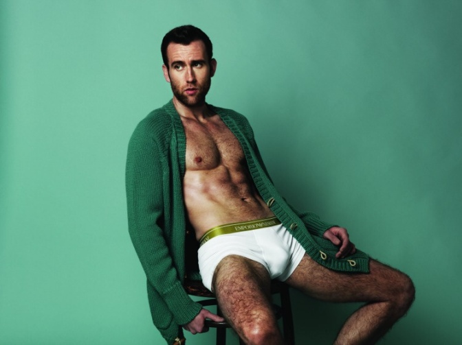 Hello, All Grown-up, Sexy and Shirtless Neville Longbottom