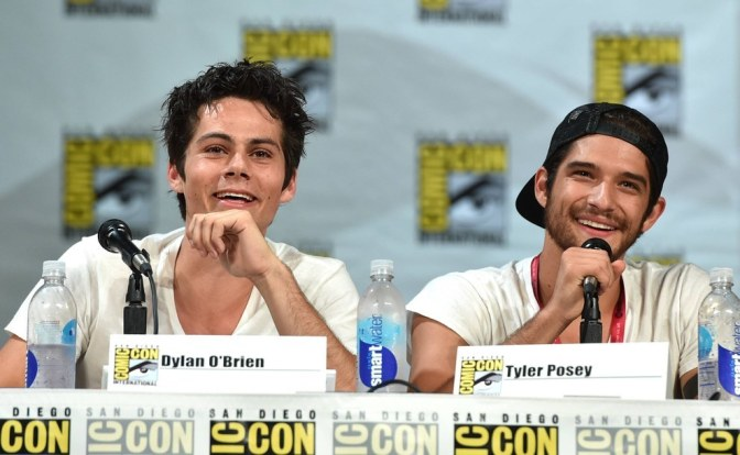 Just Because: Tyler Posey and Dylan O'Brien #TGIF