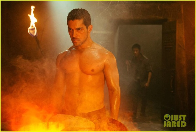 Today's Gratuitous Pic: Shirtless and Buff Wilmer Valderrama