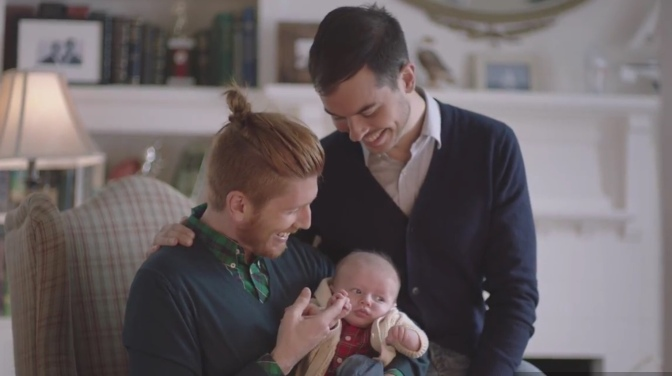 Two New Big Brand Ads Feature Gay Dads Just In Time for Father's Day