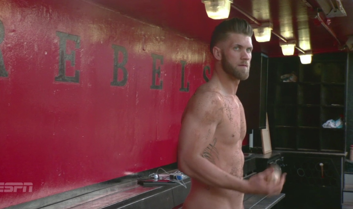 Bryce Harper Nudes Up for ESPN Body Issue