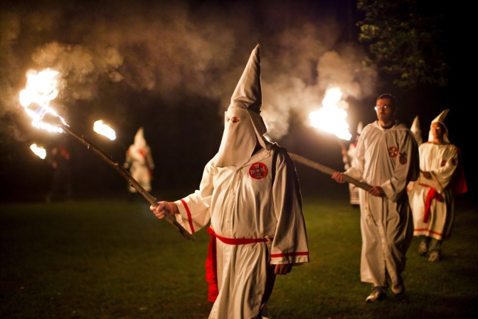 KKK Recruiting Fliers Call For Violence Against Gay People Another Reason to Avoid the South
