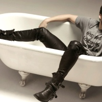Apparently, Today's National Bathtub Day...So, Here Are Men in Bathtubs