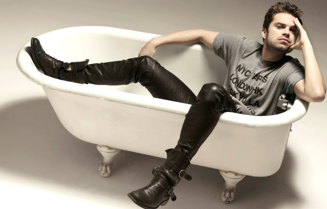 Apparently, Today's National Bathtub Day…So, Here Are Men in Bathtubs