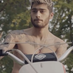 Watch: Zayn Malik Is Dirty, Shirtless and Bearded Rebel In New Video