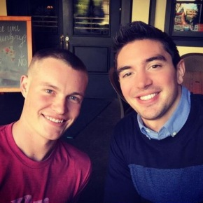 Steve Grand Keeps His Promise to Attend Marine Corps Ball with Gay Marine