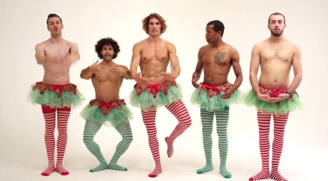 Watch: Happy Hunkapella Christmas