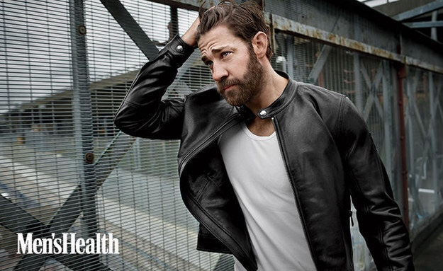 John Krasinski: Looking Buff and Sexy on 'Men's Health'