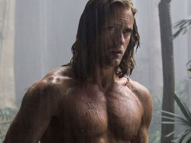 Today's Gratuitous Pic: Alexander Skarsgård As Tarzan