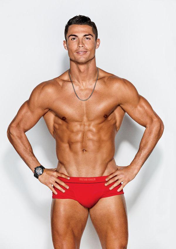 Cristiano Ronaldo Covers 'GQ' Body Issue