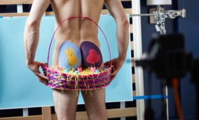 #NSFW: We Painted Guys' Butts Like Easter Eggs And This Is What Happened