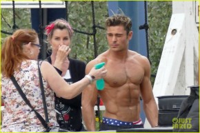 How Do I Get This Job of Spraying a Shirtless Zac Efron?