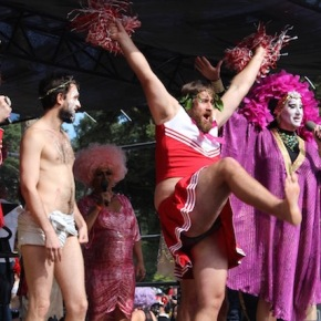 Cheerleader Jesus Wins San Francisco's Hunky JesusContest