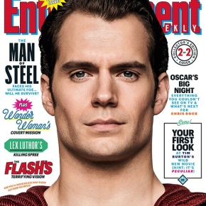 Henry Cavill Covers 'ET' as Superman (Woof!)