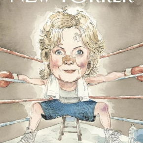 The Cover of Next Week's 'The NewYorker'