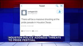FBI Investigating Tweet Threatening 'Massive Shooting' at Houston Pride –VIDEO