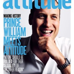Prince William Is First Royal To Cover a GayMag