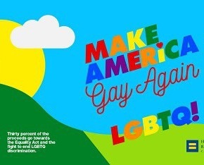 American Apparel Launches 'Make America Gay Again' LGBT Equality Campaign:VIDEO