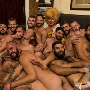 The Must-Have Invitation: Juanita More!'s Naked Dinner Parties #NSFW