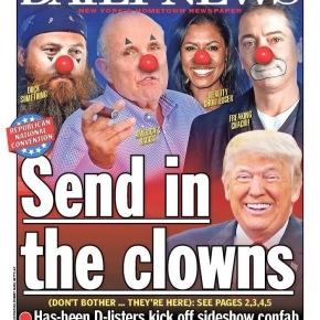 Tomorrow's Cover of the NY DailyNews