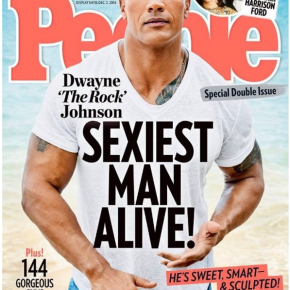 """Dwayne """"The Rock"""" Johnson is People's Sexiest ManAlive"""
