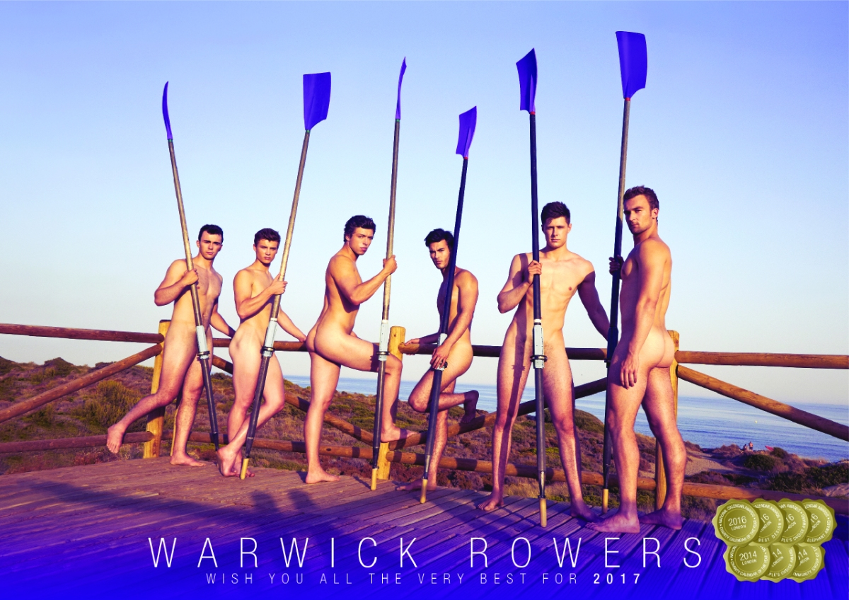 The Warwick Rowers Launch 2017 Naked Calendar! #NSFW