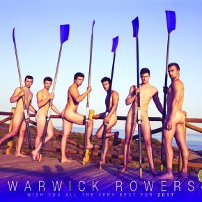 The Warwick Rowers Launch 2017 Naked Calendar!#NSFW