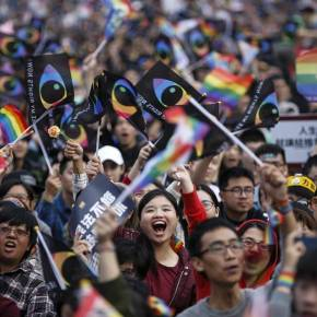 250,000 March In Taiwan For Marriage Equality