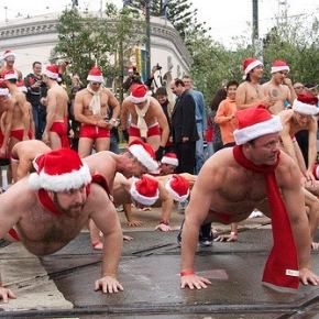 Sunday is San Francisco's Annual Santa SkivviesRun