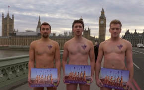 Watch: The Naked Warwick Rowers Have A Message for Trump, Pence and Other World Leaders